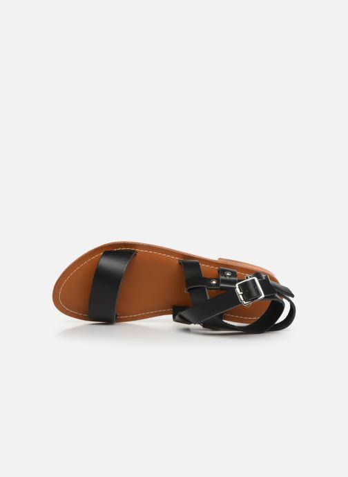 Sandales et nu-pieds L'Atelier Tropézien SH604 Noir vue gauche