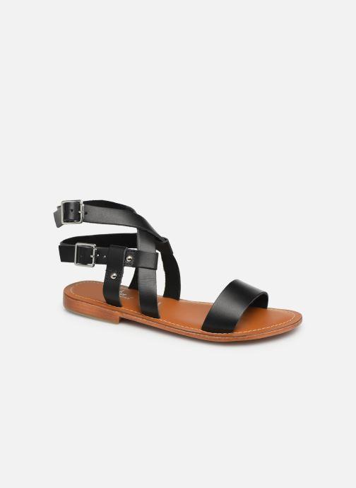 Sandales et nu-pieds L'Atelier Tropézien SH604 Noir vue détail/paire