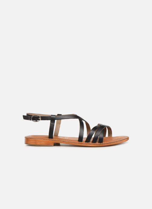 Sandals L'Atelier Tropézien SH653 Black back view