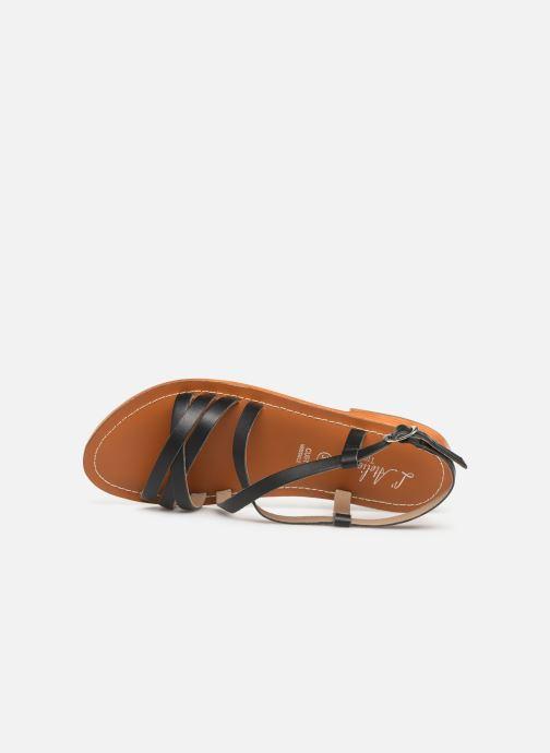 Sandales et nu-pieds L'Atelier Tropézien SH653 Noir vue gauche