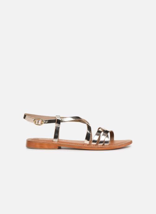 Sandals L'Atelier Tropézien SH653 Bronze and Gold back view