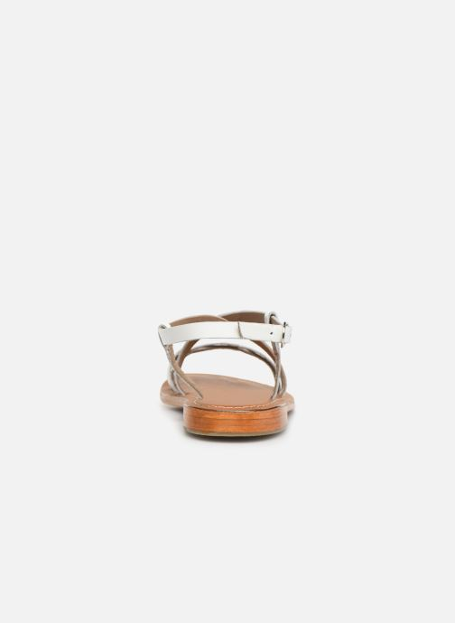 Sandals L'Atelier Tropézien SH653 White view from the right