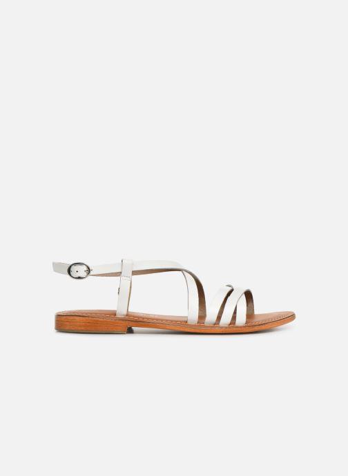 Sandales et nu-pieds L'Atelier Tropézien SH653 Blanc vue derrière