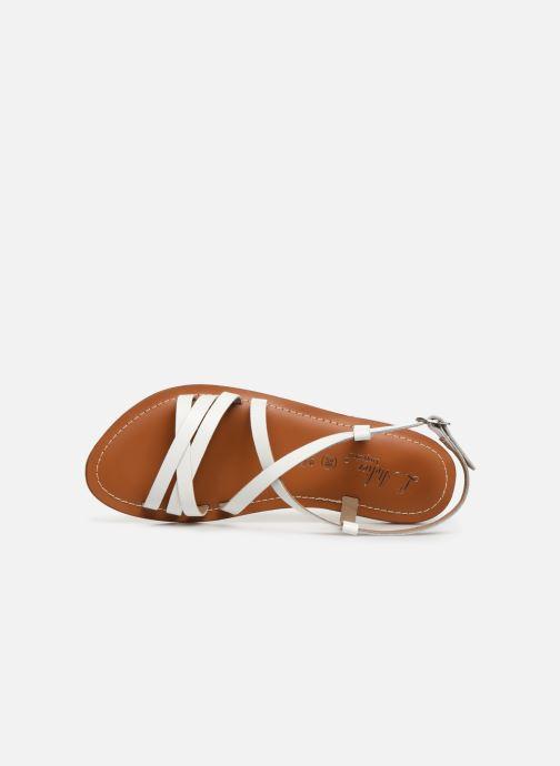 Sandales et nu-pieds L'Atelier Tropézien SH653 Blanc vue gauche