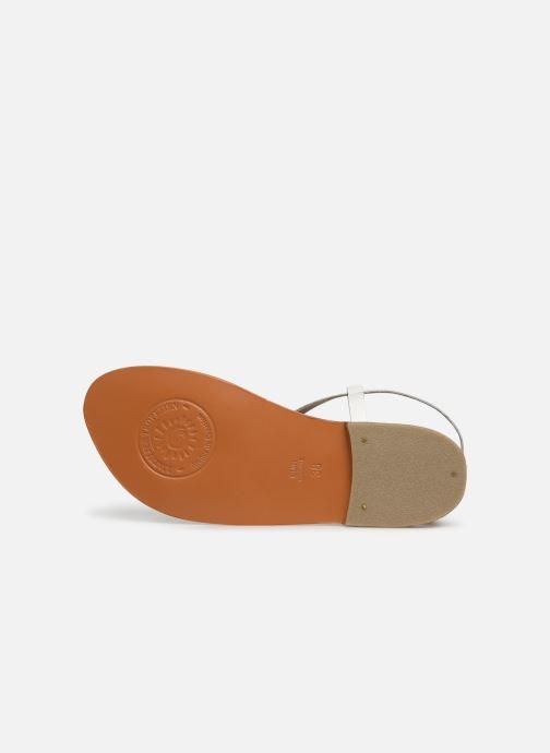 Sandales et nu-pieds L'Atelier Tropézien SH653 Blanc vue haut