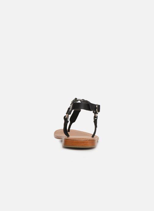 Sandales et nu-pieds L'Atelier Tropézien SH652 Noir vue droite