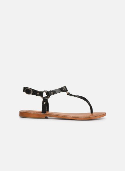 Sandals L'Atelier Tropézien SH652 Black back view