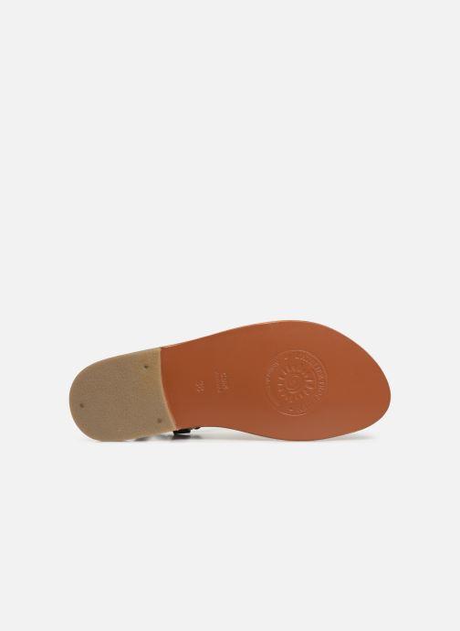 Sandales et nu-pieds L'Atelier Tropézien SH652 Noir vue haut