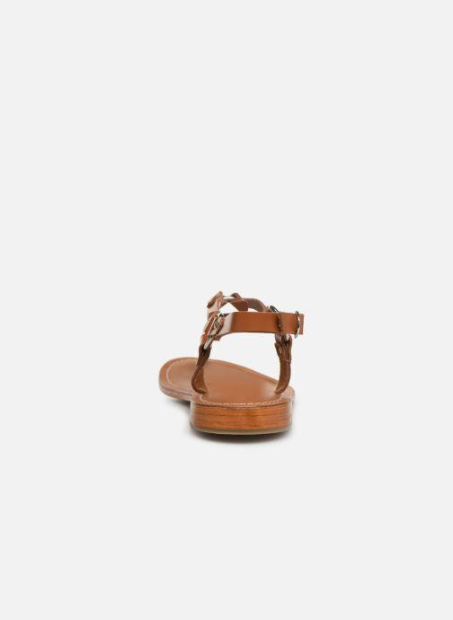 Sandales et nu-pieds L'Atelier Tropézien SH652 Marron vue droite