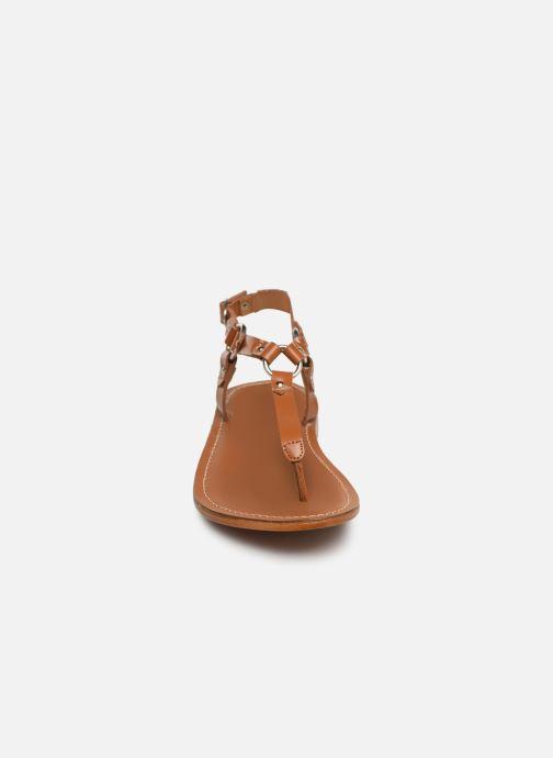Sandali e scarpe aperte L'Atelier Tropézien SH652 Marrone modello indossato