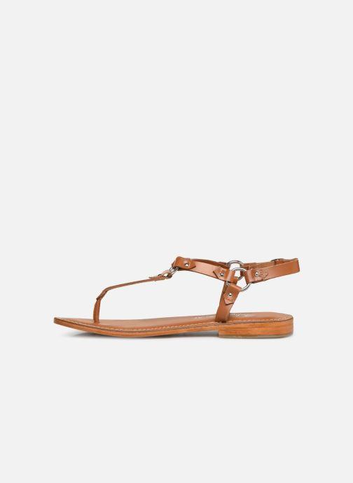 Sandali e scarpe aperte L'Atelier Tropézien SH652 Marrone immagine frontale
