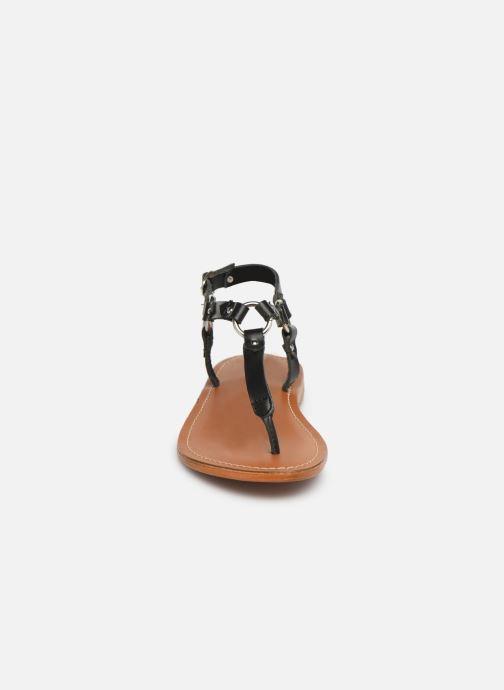 Sandales et nu-pieds L'Atelier Tropézien SH652 Noir vue portées chaussures