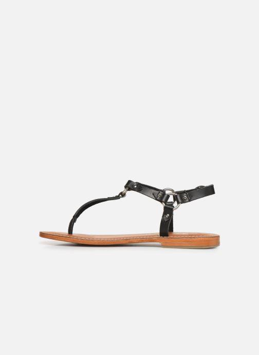 Sandali e scarpe aperte L'Atelier Tropézien SH652 Nero immagine frontale