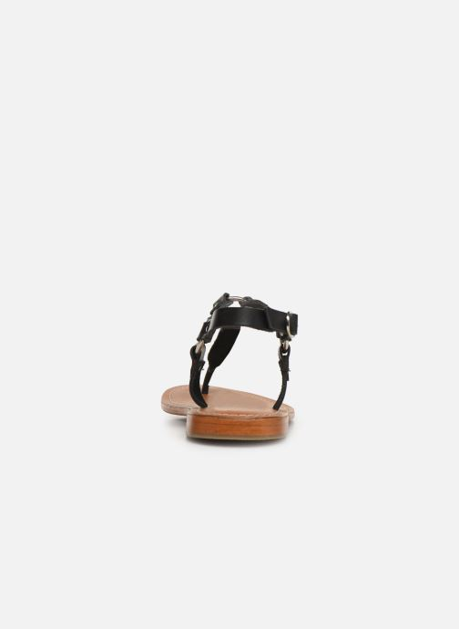 Sandali e scarpe aperte L'Atelier Tropézien SH652 Nero immagine destra
