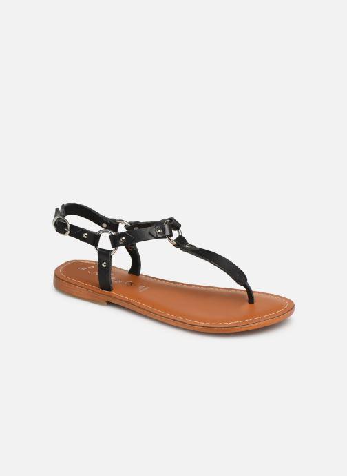 Sandales et nu-pieds L'Atelier Tropézien SH652 Noir vue détail/paire