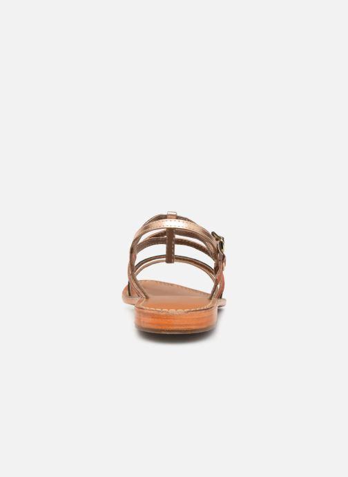 Sandales et nu-pieds L'Atelier Tropézien SB900 Or et bronze vue droite