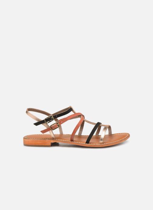 Sandales et nu-pieds L'Atelier Tropézien SB900 Or et bronze vue derrière