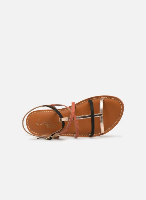 Sandales et nu-pieds L'Atelier Tropézien SB900 Or et bronze vue gauche