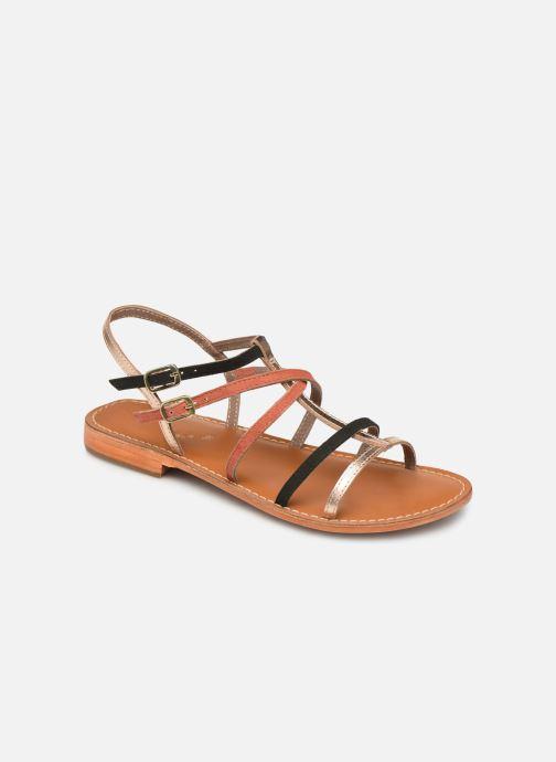 Sandales et nu-pieds L'Atelier Tropézien SB900 Or et bronze vue détail/paire