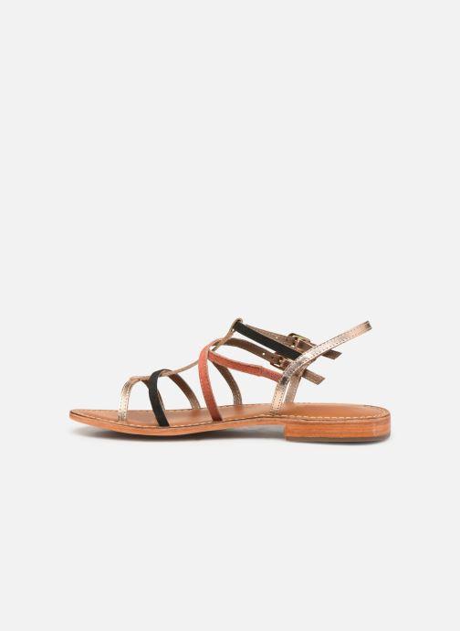 Sandales et nu-pieds L'Atelier Tropézien SB900 Or et bronze vue face