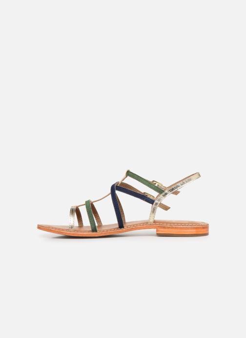 Sandali e scarpe aperte L'Atelier Tropézien SB900 Oro e bronzo immagine frontale