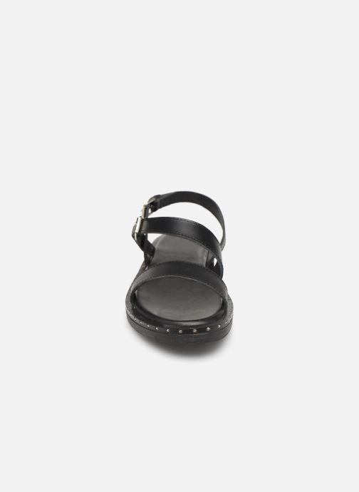 Sandales et nu-pieds L'Atelier Tropézien SH662 Noir vue portées chaussures