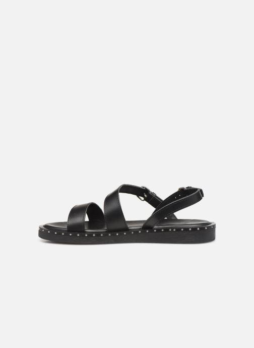 Sandales et nu-pieds L'Atelier Tropézien SH662 Noir vue face