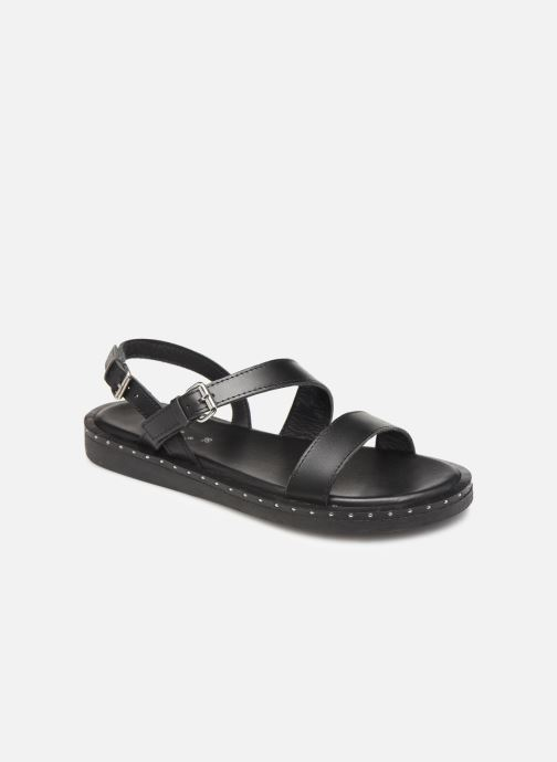 Sandals L'Atelier Tropézien SH662 Black detailed view/ Pair view