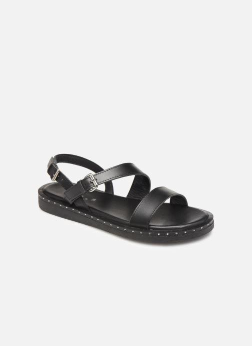 Sandales et nu-pieds L'Atelier Tropézien SH662 Noir vue détail/paire