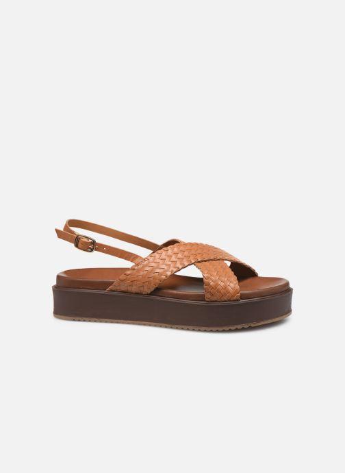 Sandals L'Atelier Tropézien CHV 19 269 AL Brown back view