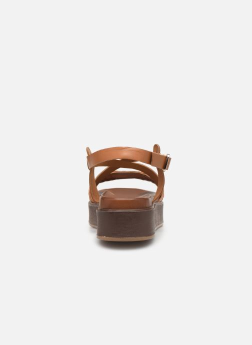 Sandales et nu-pieds L'Atelier Tropézien CHV  266 Marron vue droite