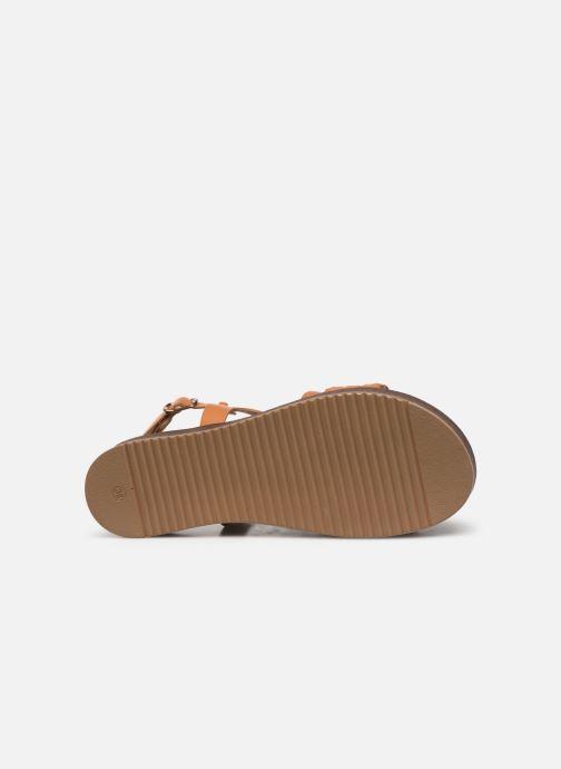 Sandales et nu-pieds L'Atelier Tropézien CHV  266 Marron vue haut