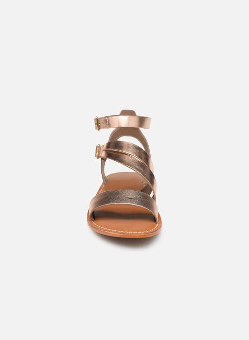 Sandales et nu-pieds L'Atelier Tropézien SB917 Rose vue portées chaussures