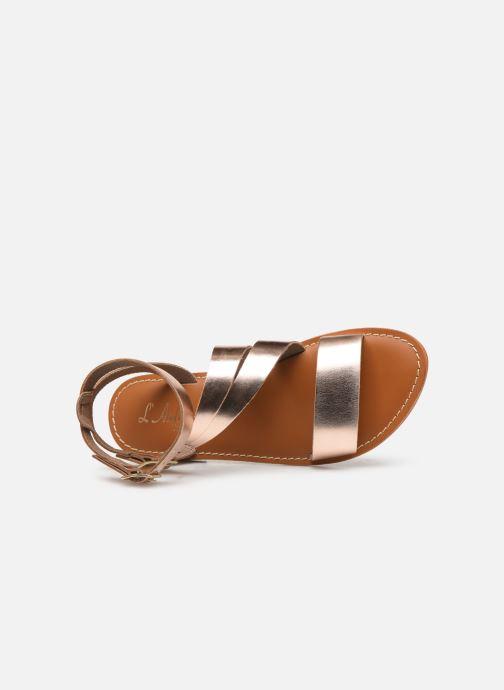Sandales et nu-pieds L'Atelier Tropézien SB917 Rose vue gauche