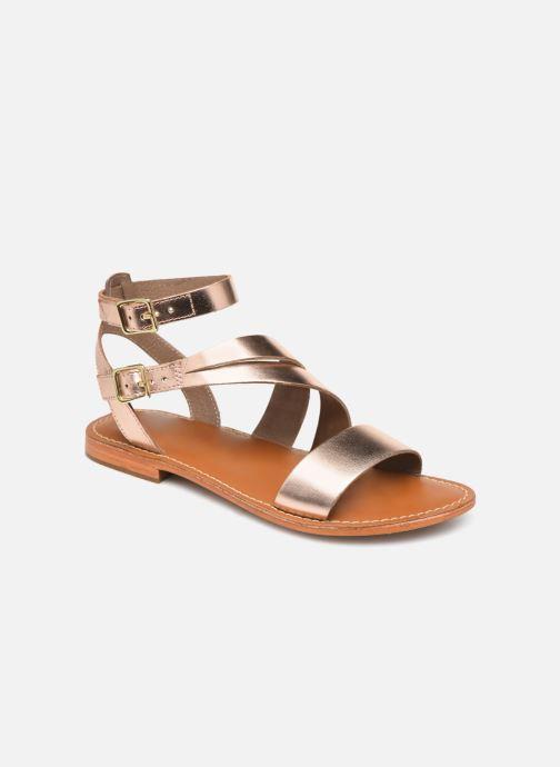Sandales et nu-pieds L'Atelier Tropézien SB917 Rose vue détail/paire