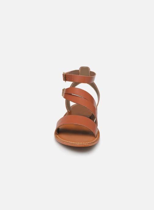 Sandales et nu-pieds L'Atelier Tropézien SB917 Marron vue portées chaussures