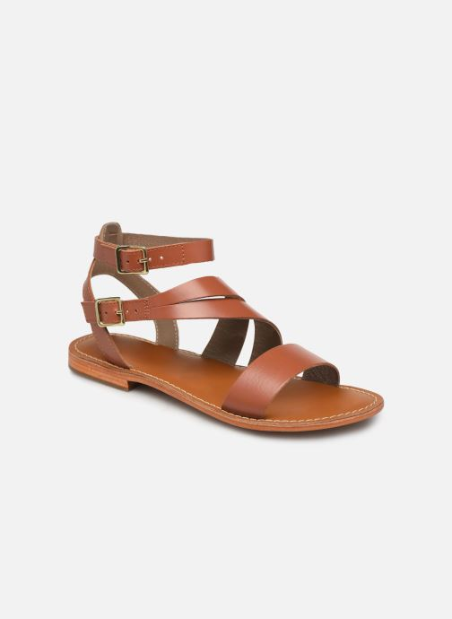 Sandales et nu-pieds L'Atelier Tropézien SB917 Marron vue détail/paire