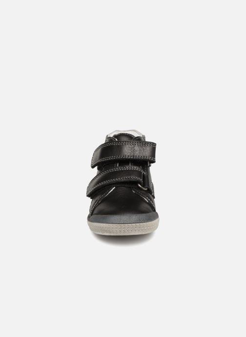 Ankle boots Babybotte B3Velcro Black model view
