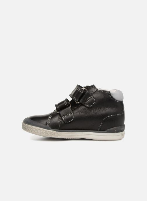 Ankle boots Babybotte B3Velcro Black front view