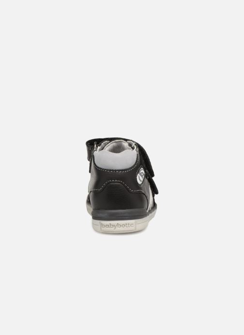 Ankle boots Babybotte B3Velcro Black view from the right