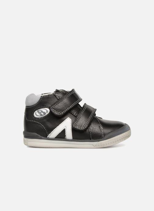 Boots en enkellaarsjes Babybotte B3Velcro Zwart achterkant