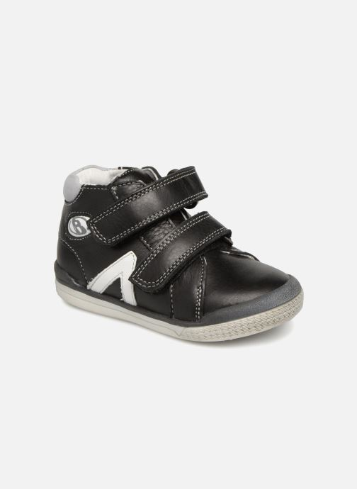 Ankle boots Babybotte B3Velcro Black detailed view/ Pair view