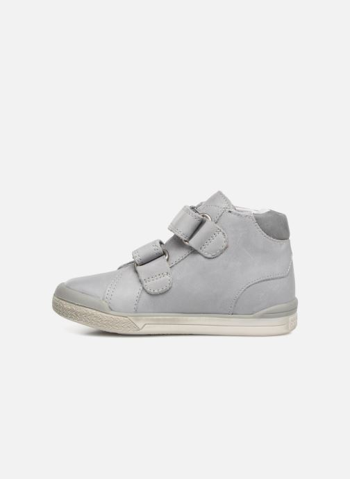 Ankle boots Babybotte B3Velcro Grey front view