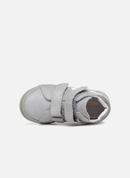 Ankle boots Babybotte B3Velcro Grey view from the left