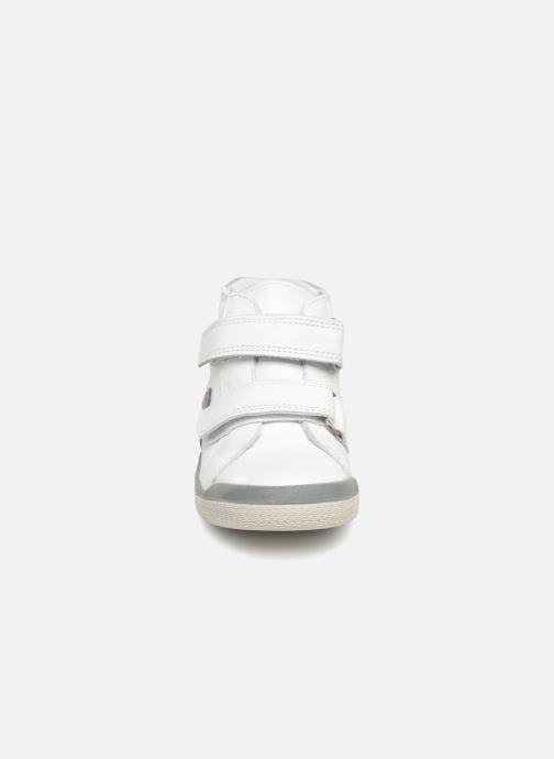 Bottines et boots Babybotte B3Velcro Blanc vue portées chaussures