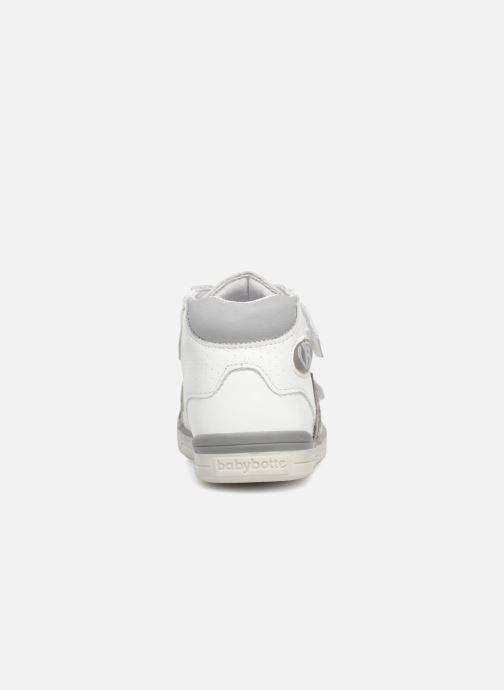 Bottines et boots Babybotte B3Velcro Blanc vue droite