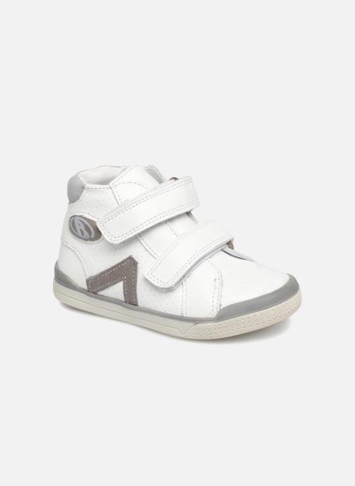 Bottines et boots Babybotte B3Velcro Blanc vue détail/paire
