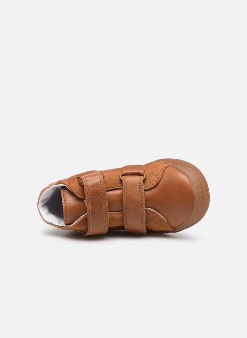 Bottines et boots Babybotte B3Velcro Marron vue gauche