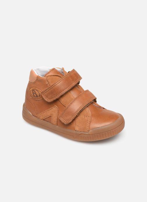 Bottines et boots Babybotte B3Velcro Marron vue détail/paire
