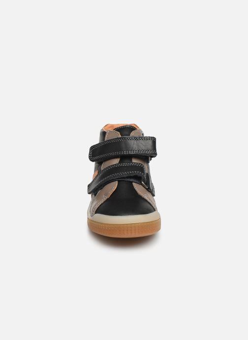 Stiefeletten & Boots Babybotte B3Velcro schwarz schuhe getragen